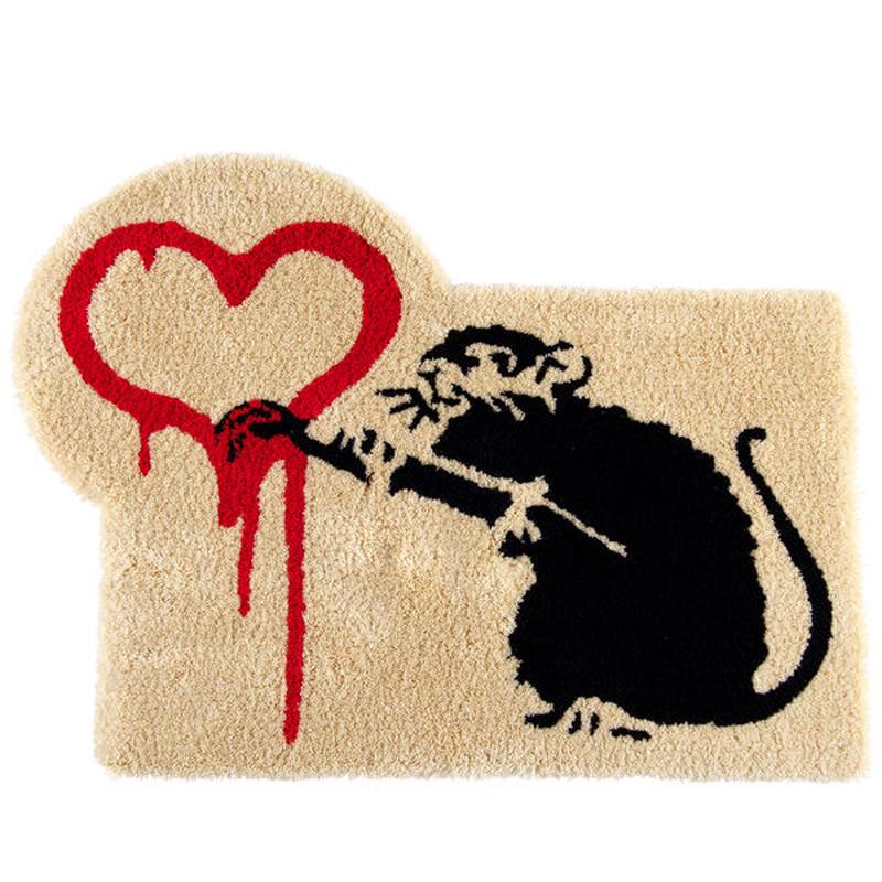 Rug Mat LOVE RAT