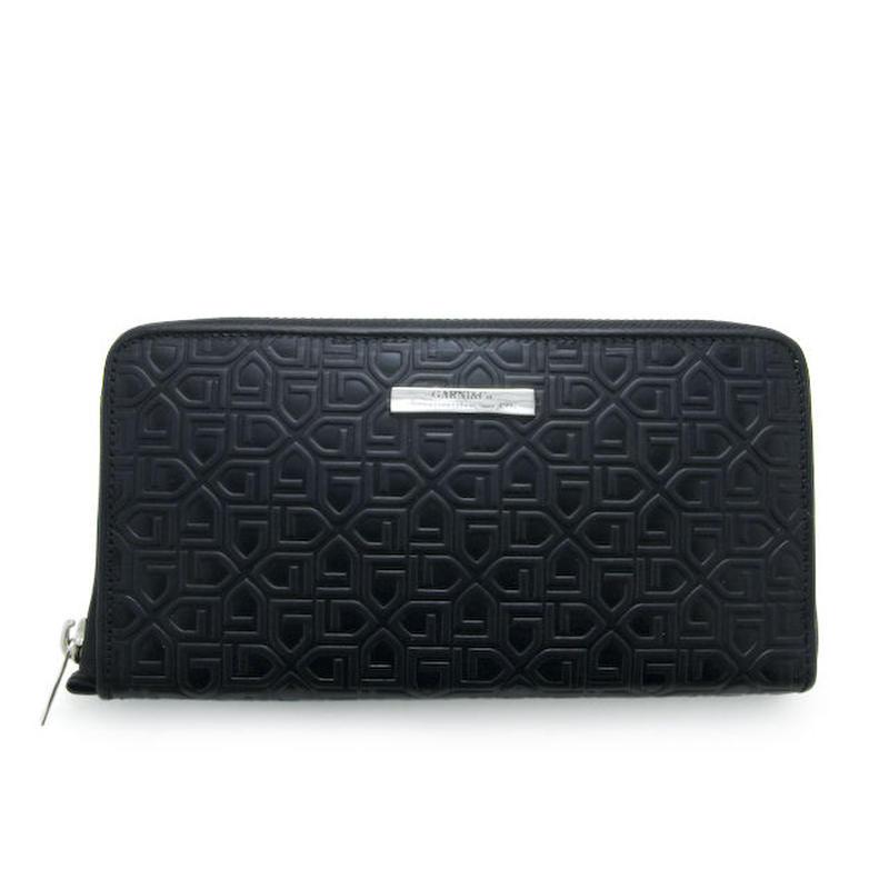 G Pattern Zip Long Wallet