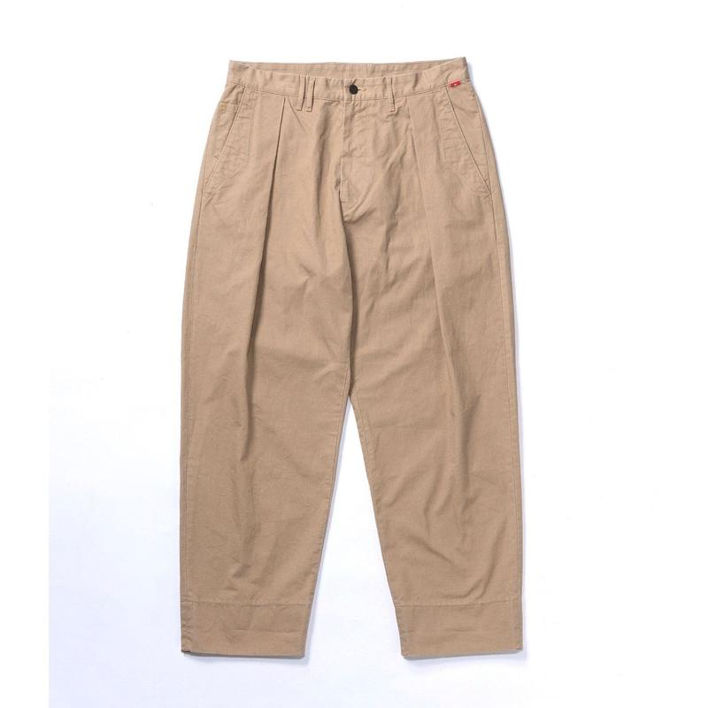 STANDARD TUCK WIDE TROUSERS
