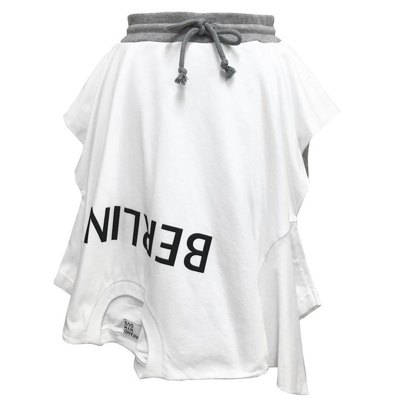 BERLIN Skirt #White