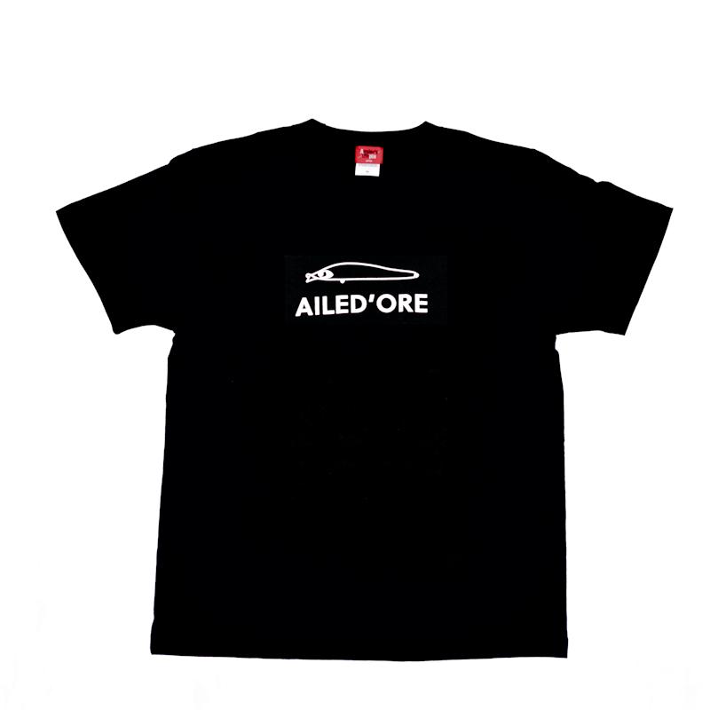 APIA ルアーTシャツ  AILED'ORE [ブラック]