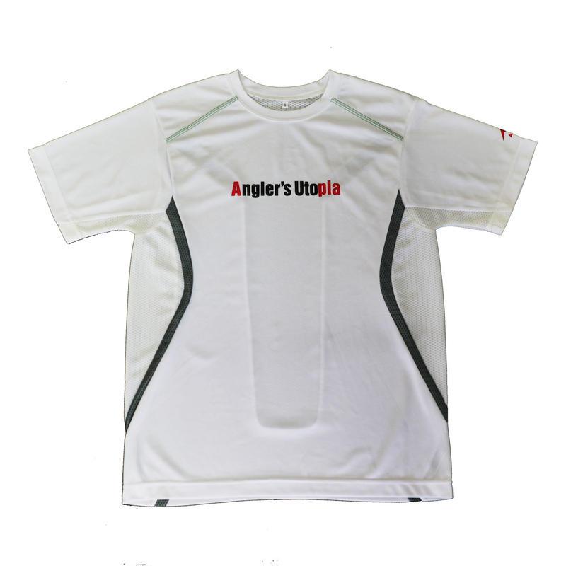APIA スポーツドライメッシュTシャツ【ホワイト】