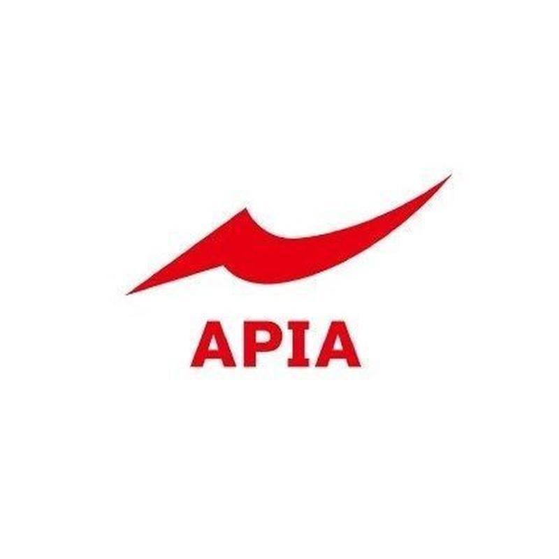APIA カッティングシート(S)[ホワイト・レッド]