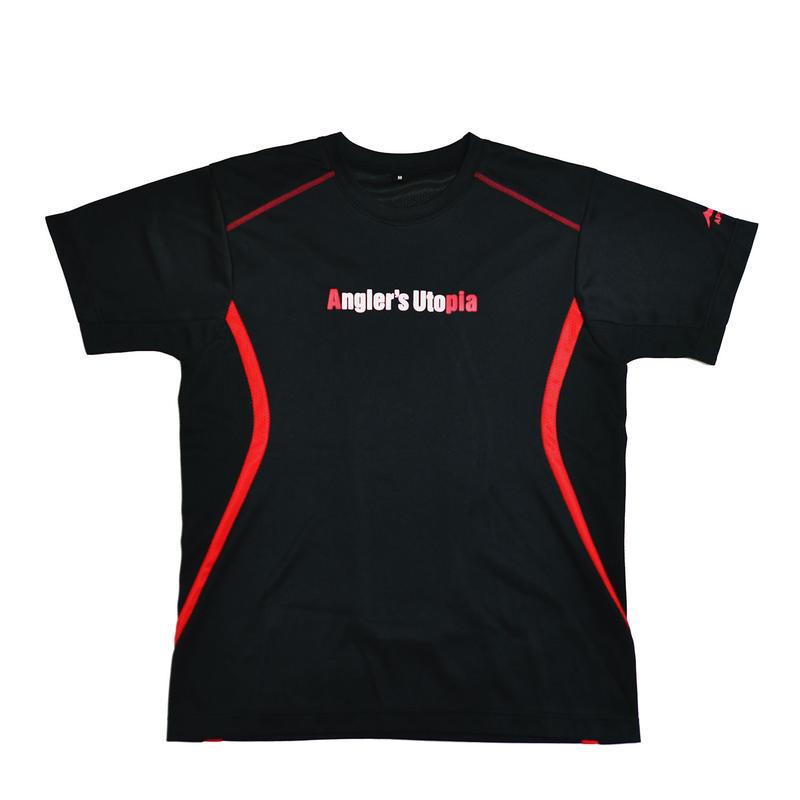 APIA スポーツドライメッシュTシャツ 【ブラック】