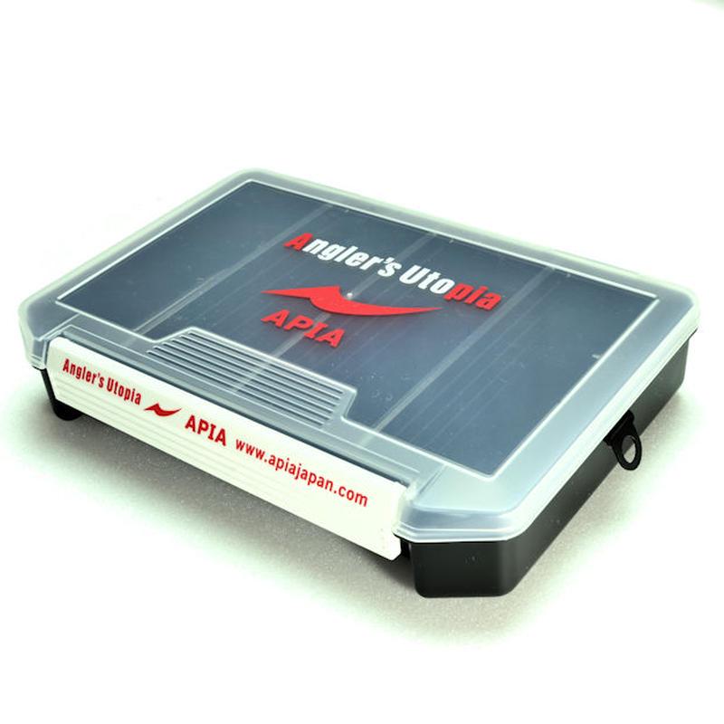 APIA  LURE  BOX【ブラック・レッド・グリーン・ホワイト】