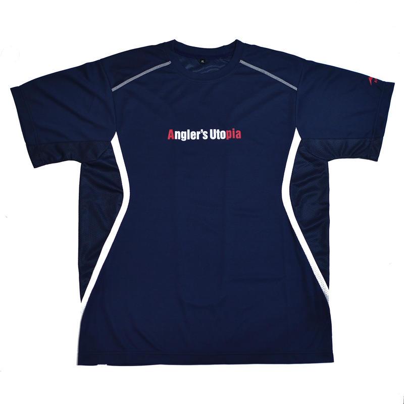 APIA スポーツドライメッシュTシャツ【ネイビー】