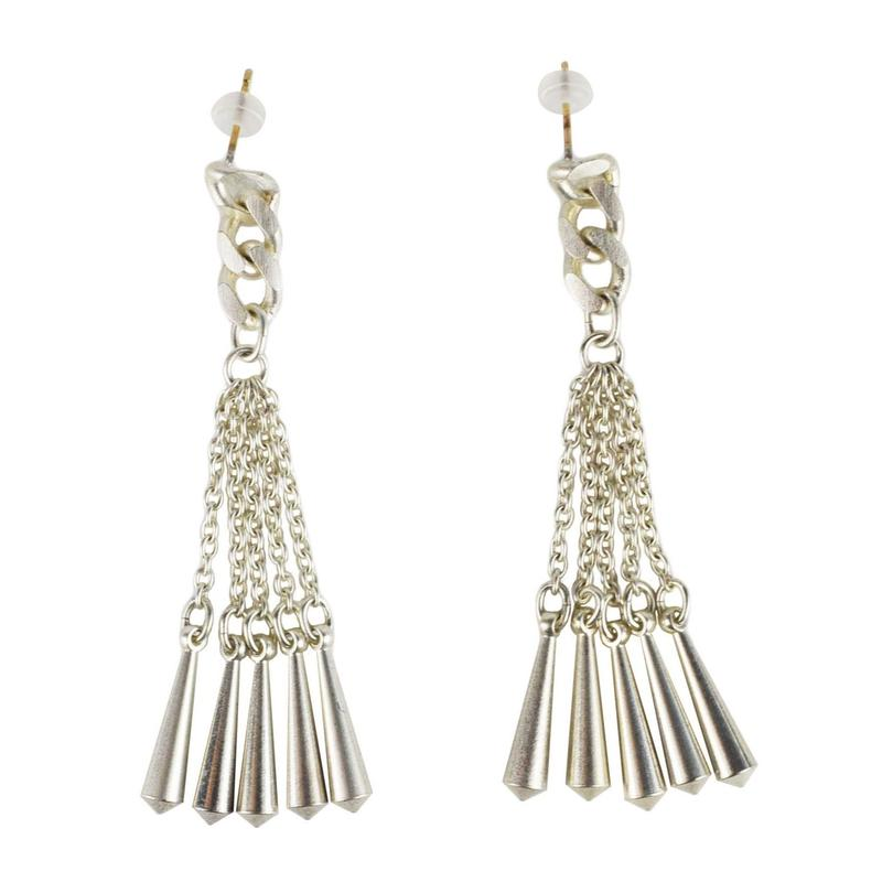 cone pierced earrings