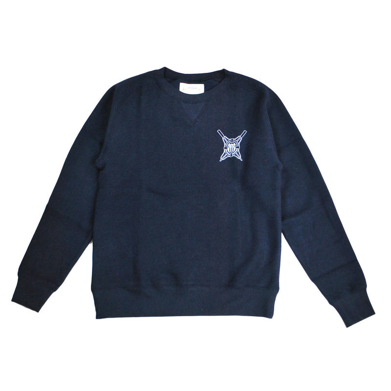 ※LYOCELL FLEECE CREW SAILING -NAVY- H183-0302