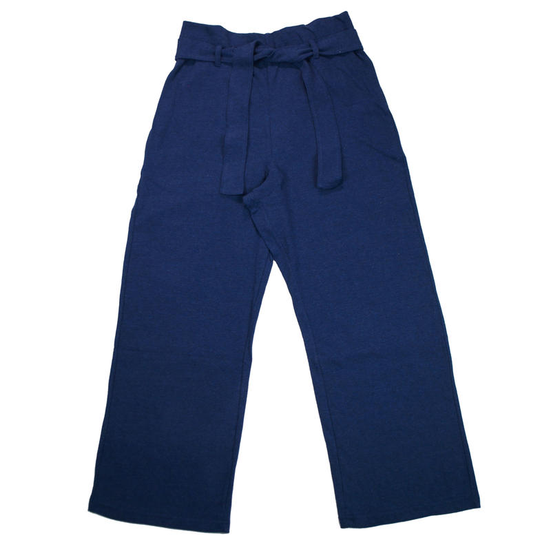 12/- JERSEY EASY PANTS for men -MIX NAVY- H185-0502
