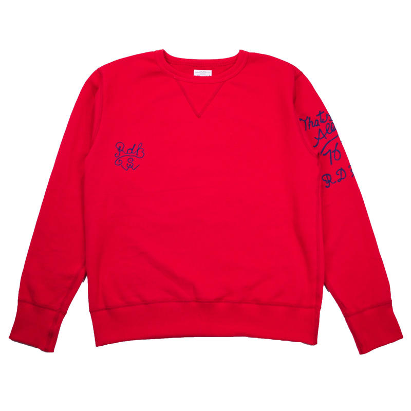 ※EMBROIDERY CREW NECK -2 COLORS- R183-0303