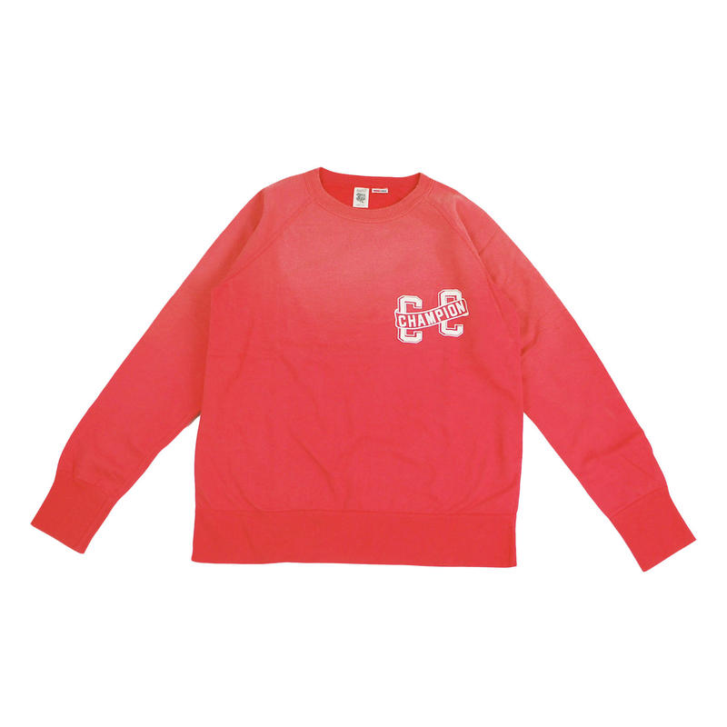 ※SUNBURN PROCESSING RAGLAN CREW -RED- R183-0301