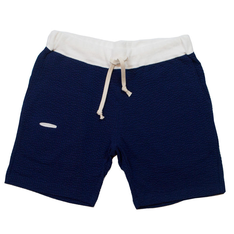 ※SEERSUCKER JERSEY SHORTS -NAVY- H185-0503