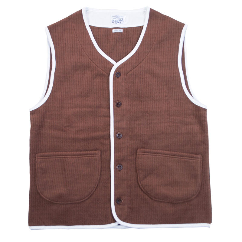 ※CORDUROY FLEECE VEST -2 COLORS- R183-0608