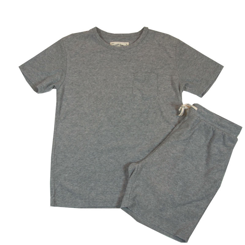 ※PILE T-SHIRTS SET -MIX GRAY- H185-0701