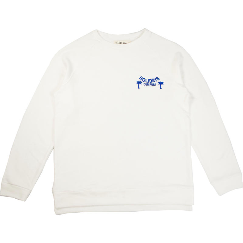 "※LOWGAUGE INLAY L/S TEE ""HOLIDAYS"" -3 COLORS- H191-0102"