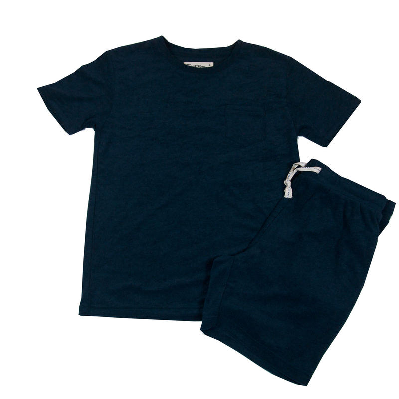 ※PILE T-SHIRTS SET -NAVY- H185-0701