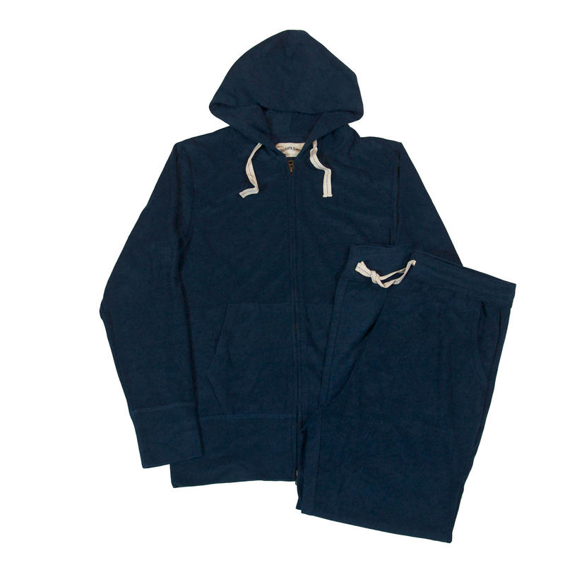 ※PILE PARKA SET -NAVY- H185-0702