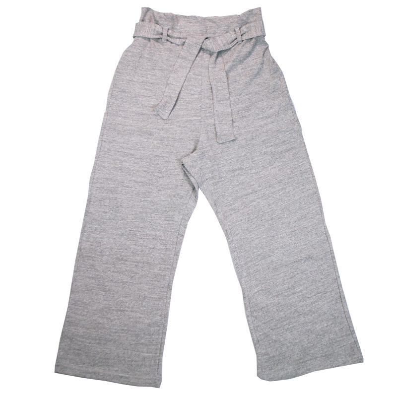 12/- JERSEY EASY PANTS for ladies -MIX GRAY- H185-0502