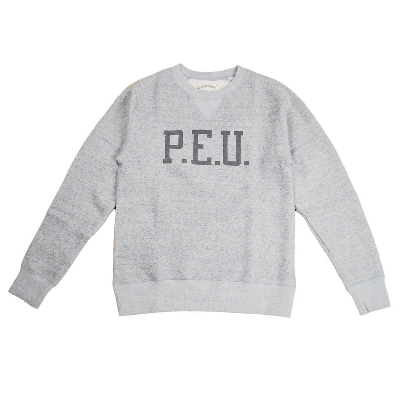 ※LYOCELL FLEECE CREW P.E.U. -MIX GRAY- H183-0302