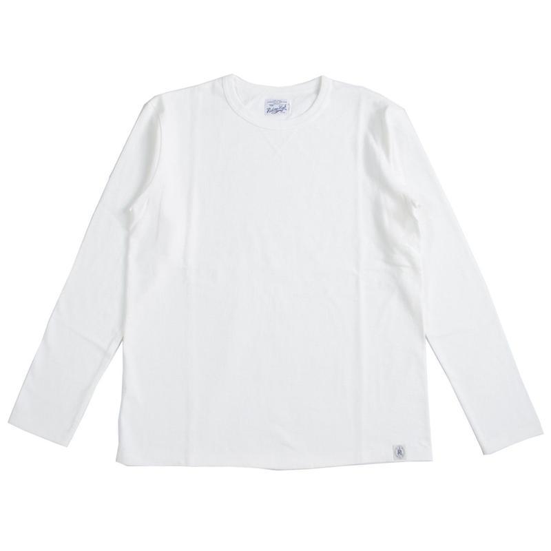 ※LOOPWHEEL L/S TEE - WHITE- R185-0102