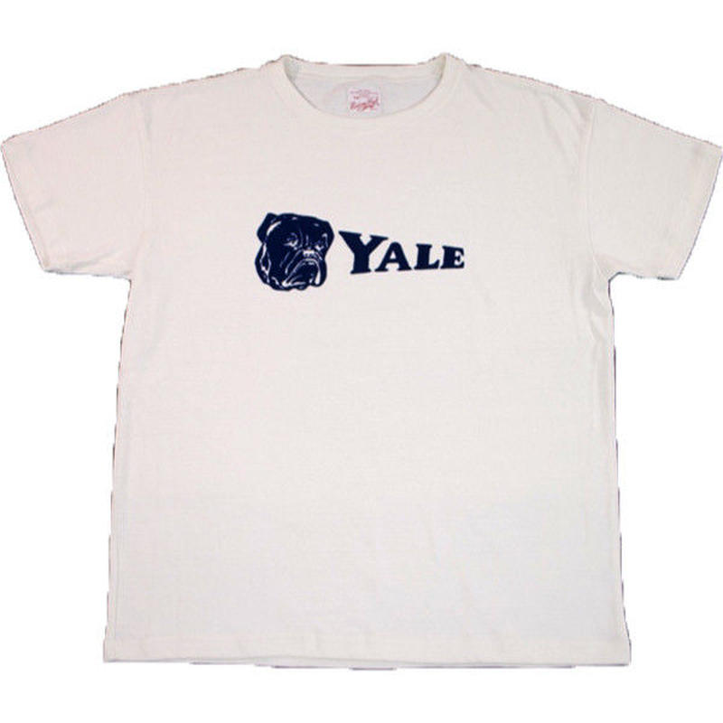 ※YALE FLOCKY TEE -OFF WHITE- R181-0108