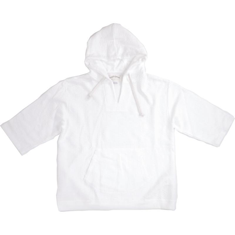 ※SEERSUCKER JERSEY HOODIE -WHITE- H185-0401