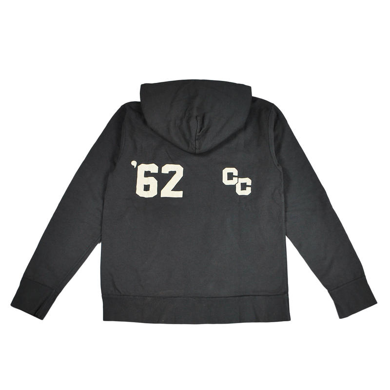 20AS VINTAGE PROCESSING PARKA -BLACK-