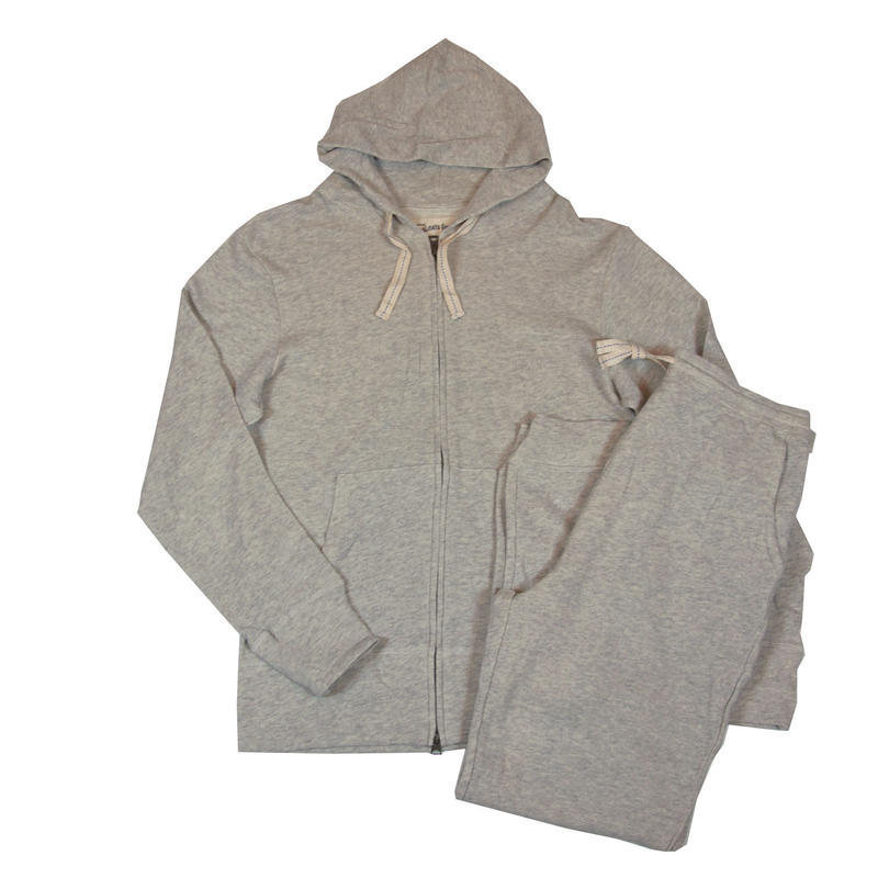 ※FLEECE PARKA SET -MIX GRAY-