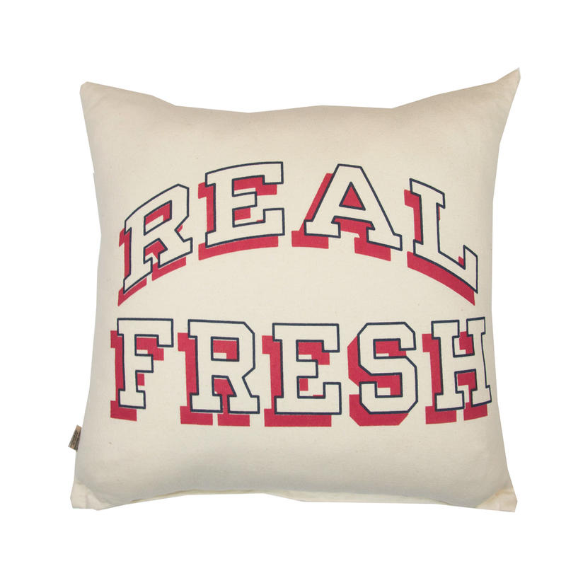 GRAPHIC CUSHION -REAL FRESH-