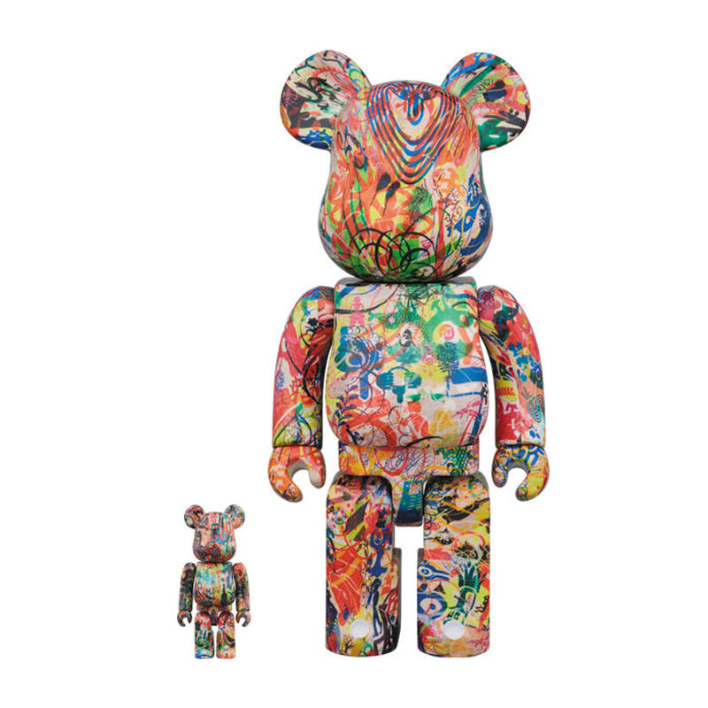 Ryan McGinness x BE@RBRICK 400%+100%