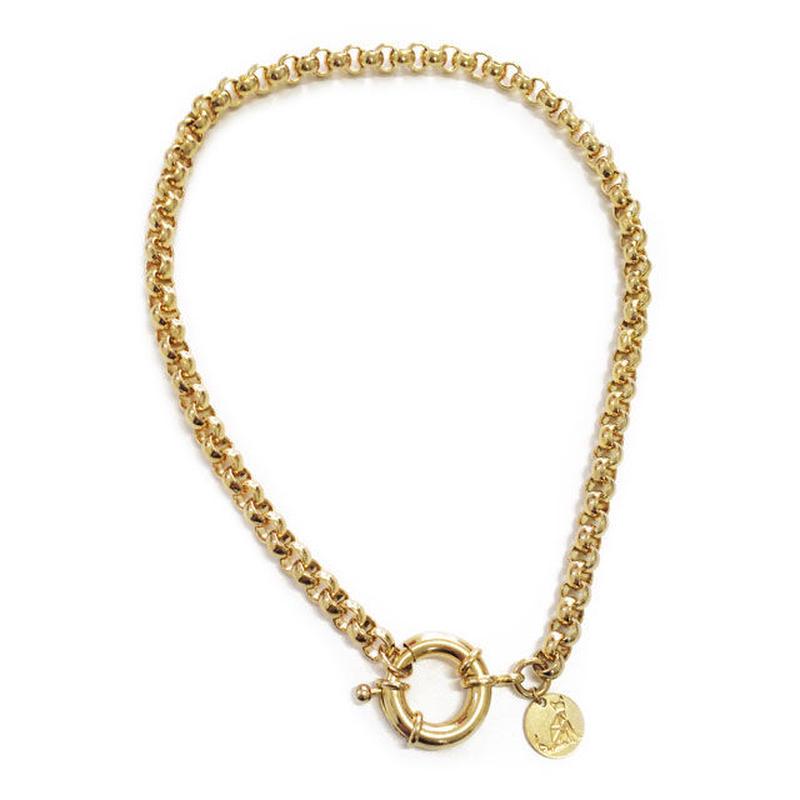 GN01 / GALISFLY ヴィンテージスタイルのゴールドチェーンネックレス【イスラエル】