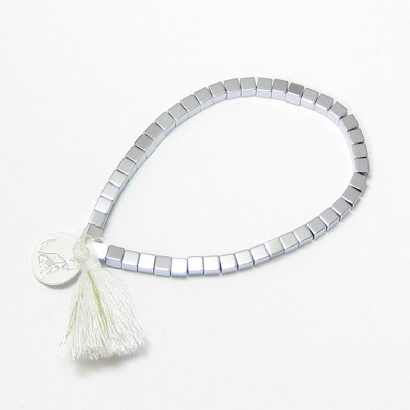 GB10 / GALISFLY ミラーキューブのストレッチブレスレット 【イスラエル】