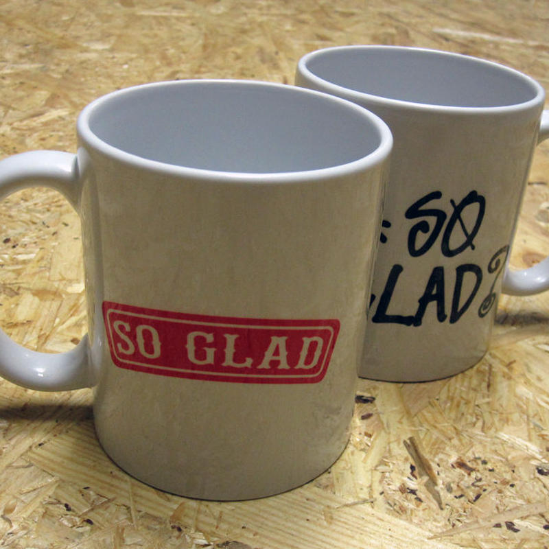 So Glad MUG LOGO Red