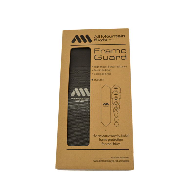 AMS Honeycomb Frame Guard. BLACK