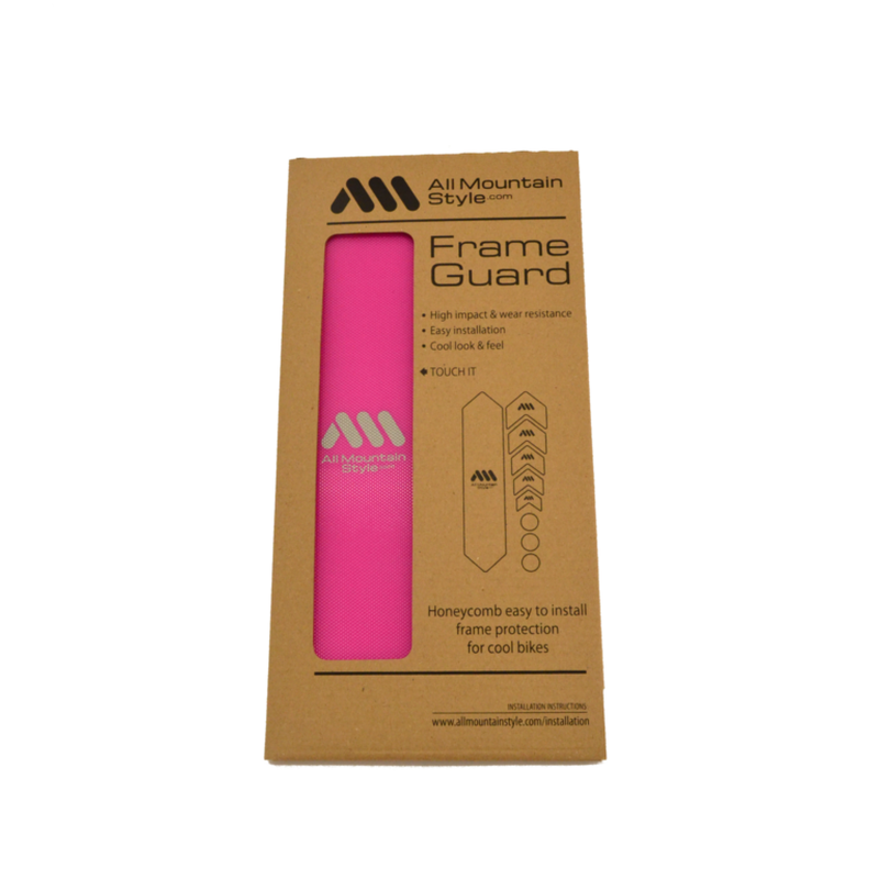 AMS Honeycomb Frame Guard. MAGENTA