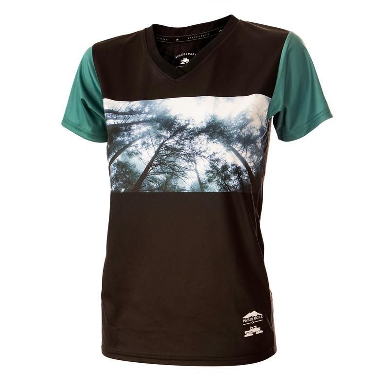 WOMEN'S REACH FOR THE SKIES SHORT SLEEVE JERSEY