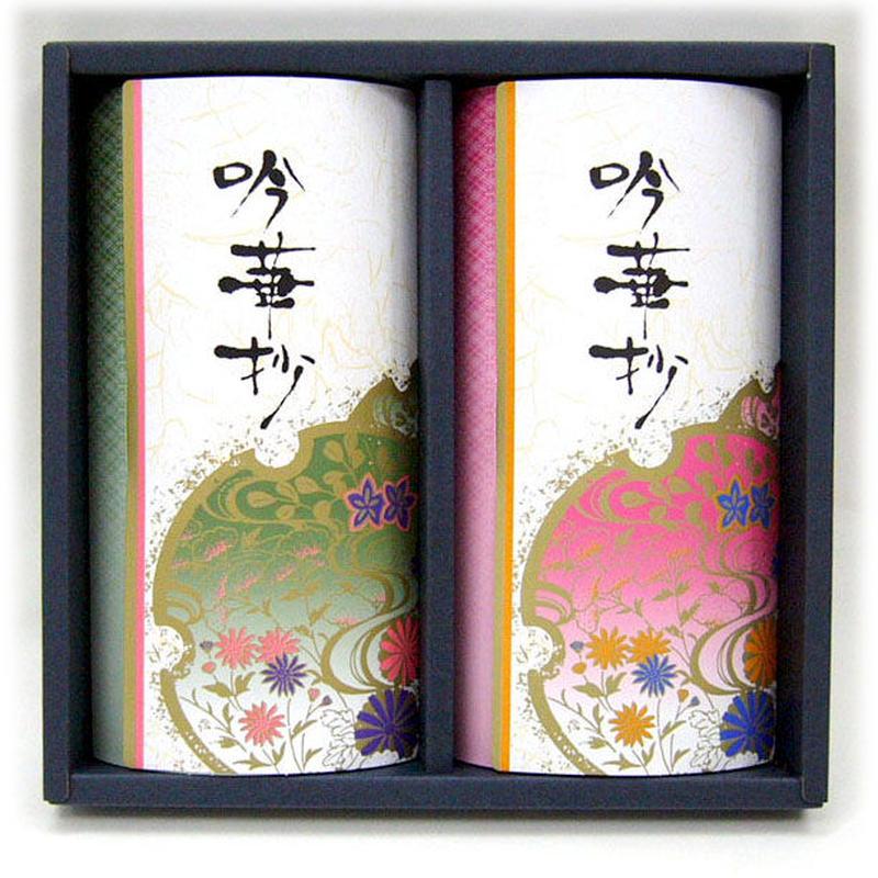 上煎茶「初つゆ」100g×2本 デラックス箱入れ