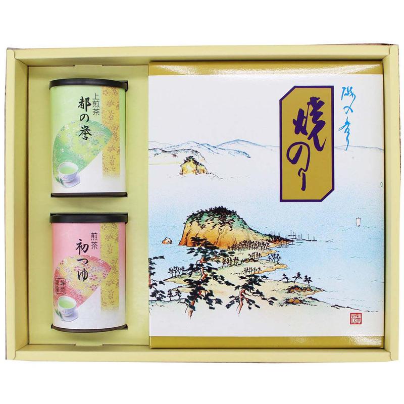 煎茶、焼海苔(全形) 詰合せ