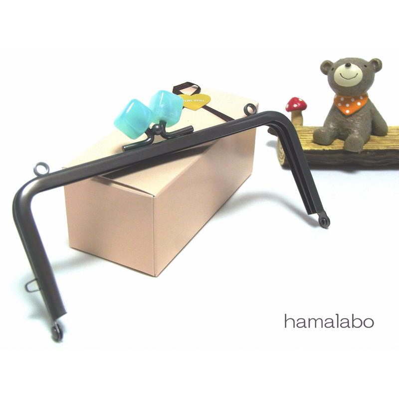 <廃盤予定>【HA-1381】13.5cm/角型(オーロラブルー×ソフトブラック)・カン付き