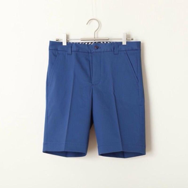 GUARICHE COTTON STRETCH SHORTS  BLUE / NAVY