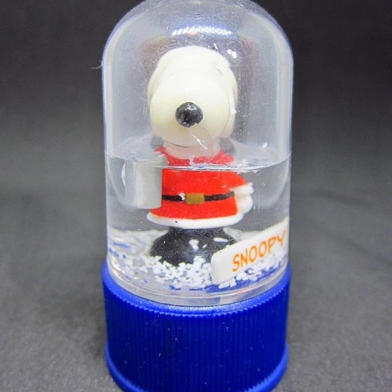 「ピーナッツ」ボトルキャップコレクション  SPボトルキャップ No.30 スノードーム