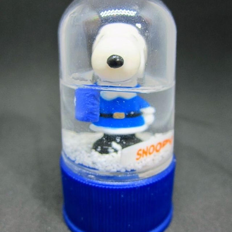 「ピーナッツ」ボトルキャップコレクション  SPボトルキャップ No.15 スノードーム