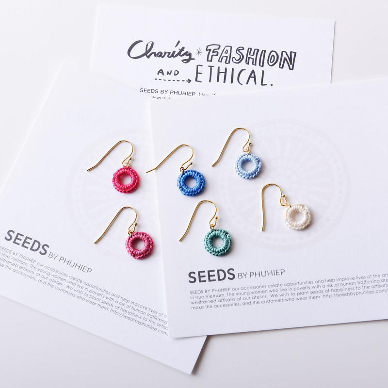 シングルリングピアス(6色) / Single Pierce Ring(6colors)