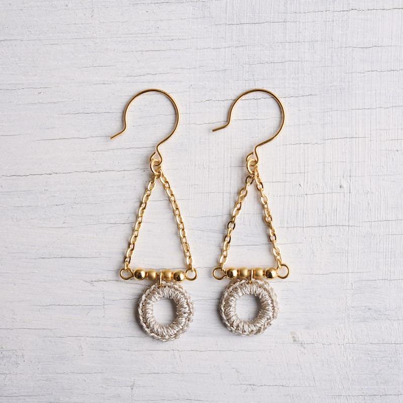 スウィングピアス (シルバー)/ Pierced Earring Swing (SILVER) [SE161P32]