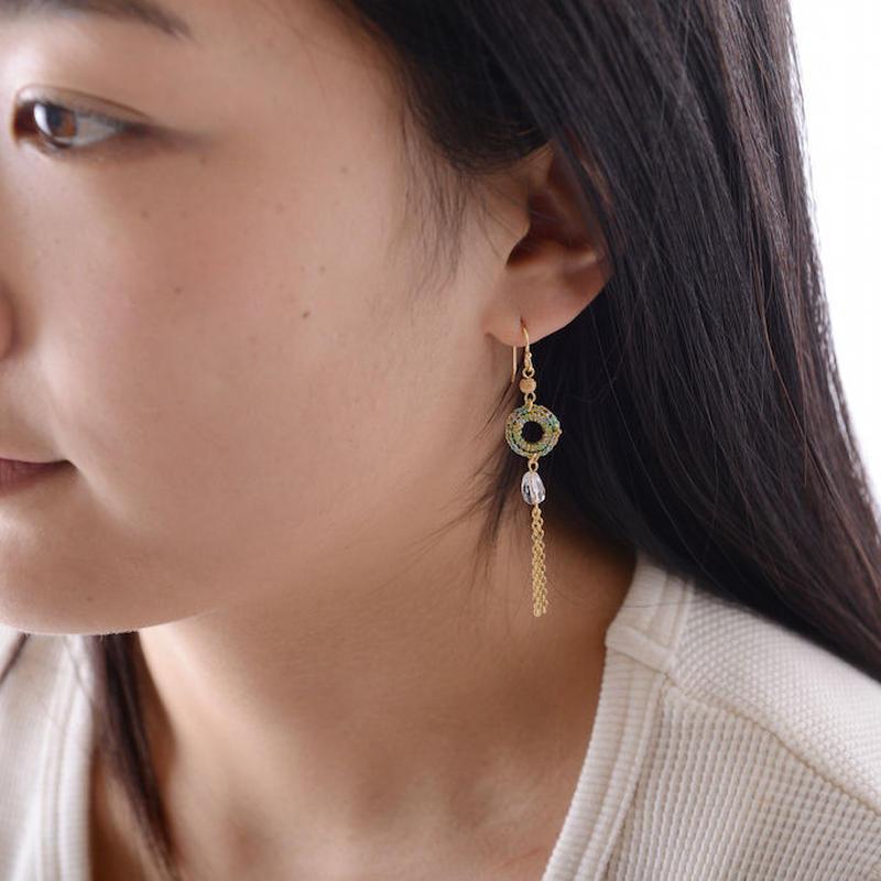 チェーンタッセルピアス / Pierced Earring Chain Tassel