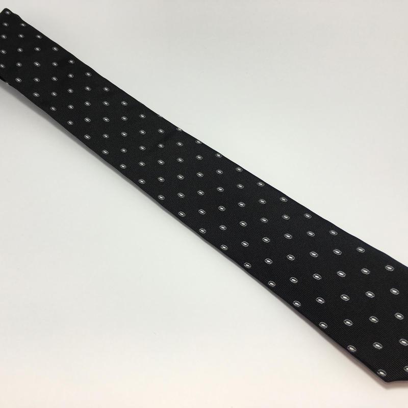 EMPORIO ARMANIネクタイ ブラック シルク 品番:RN#103709 CA#37360