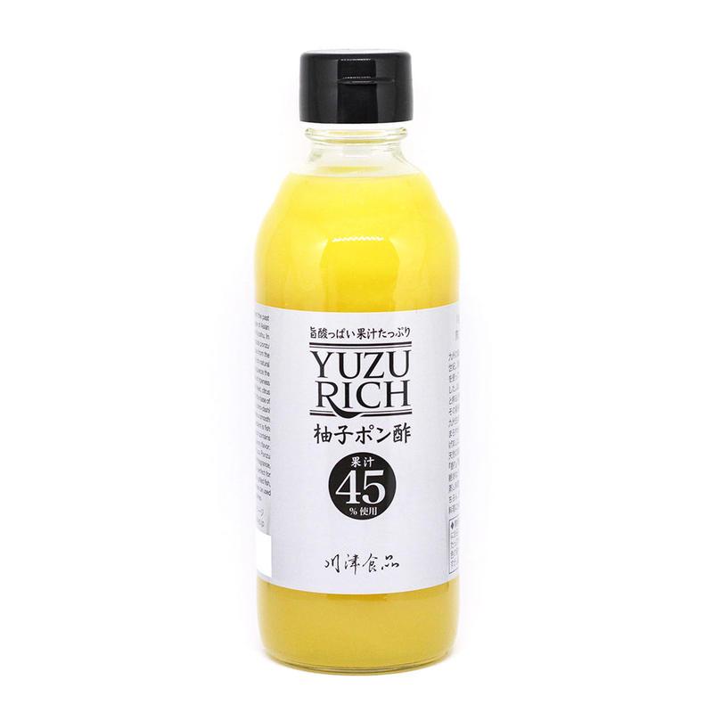 川津食品 YUZURICH柚子ポン酢