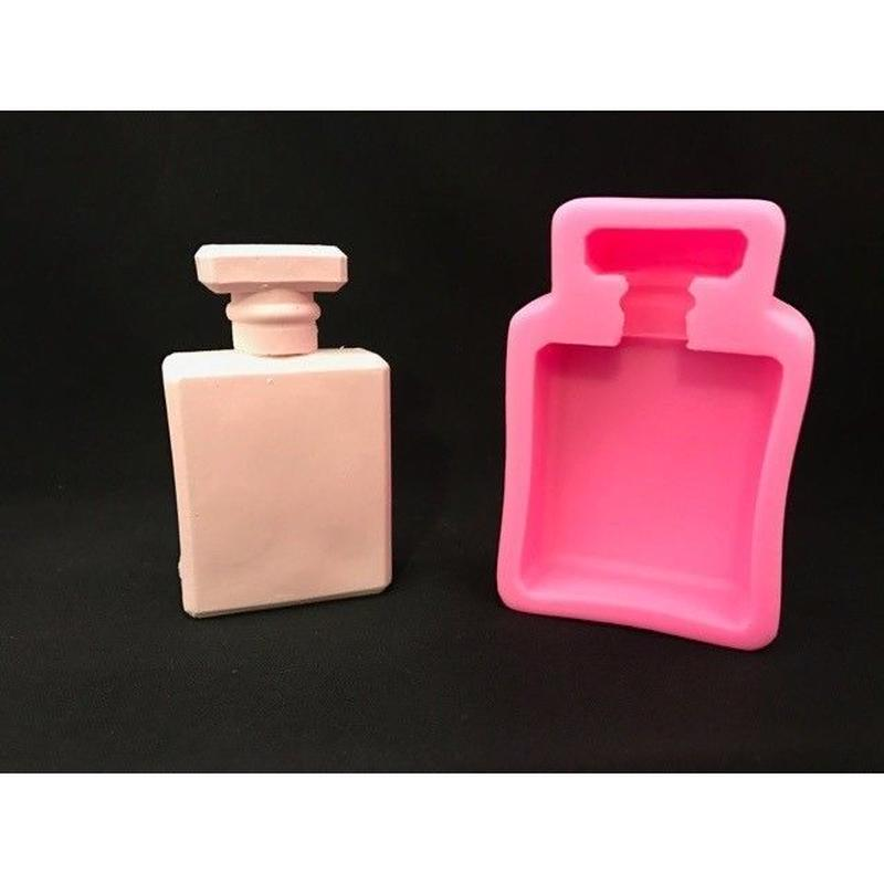 ●シリコンモールド● 香水ボトル(2D)