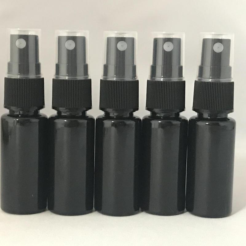 【5月限定】20mlプラスチックスプレー容器 5本セット