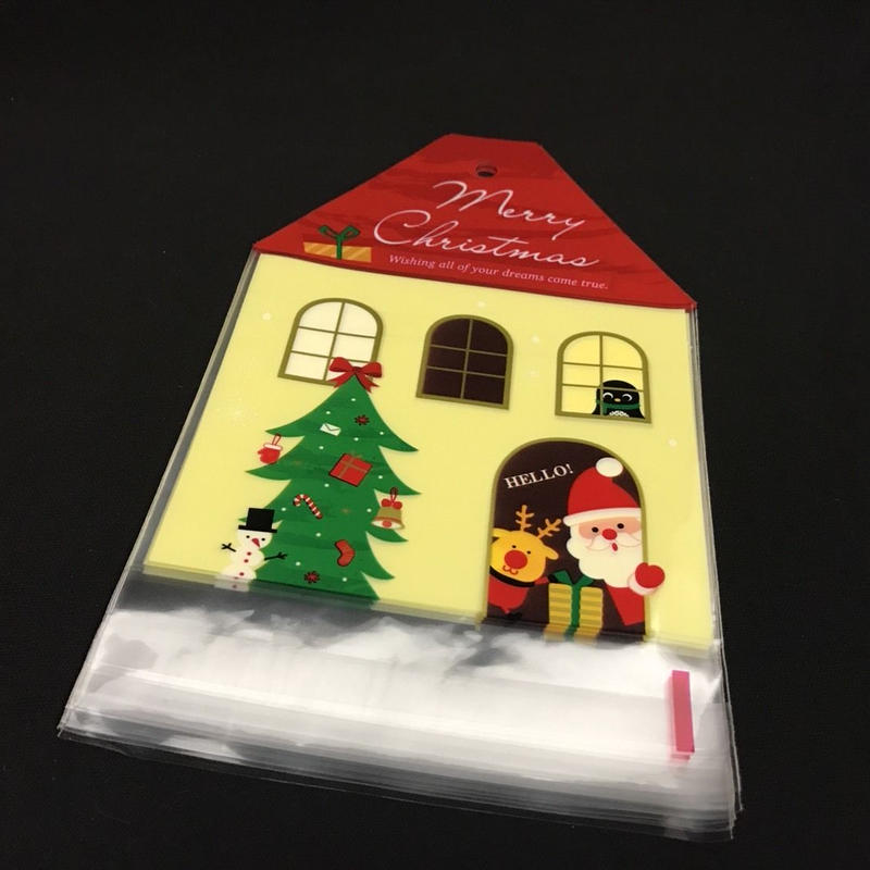 クリスマス OPP袋 1袋10枚入